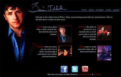 New Website: Music Director Brian J. Nash
