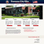 Traverse City, Michgian Web Design - Traverse City Elks' Lodge