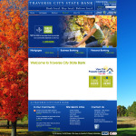Traverse City State Bank Web Design