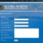 Michigan Web Design: Scuba North