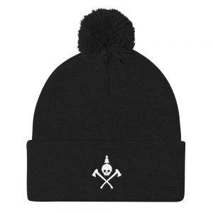 "Traverse City Web Design ""Northern Collective"" Pom Pom Knit Cap"