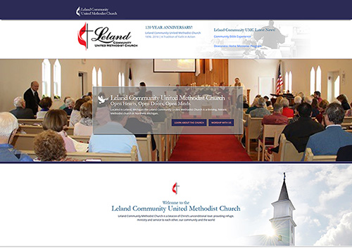 Read more about the article New Website for Leland United Methodist Church